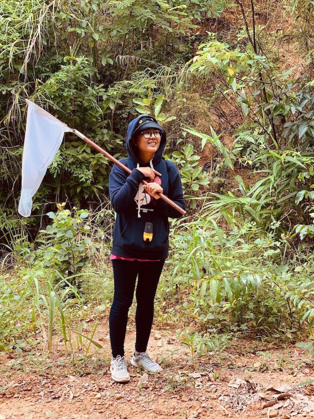 Friendly Khmer woman Kep.