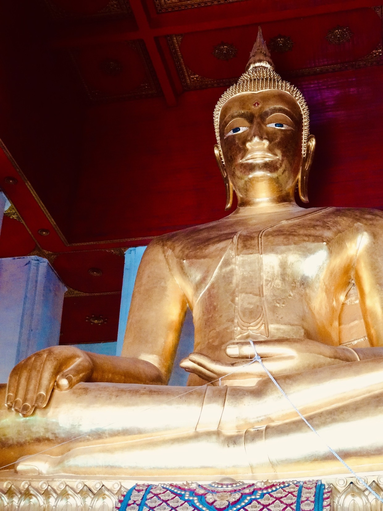 Golden Buddha Ayutthaya Historical Park.