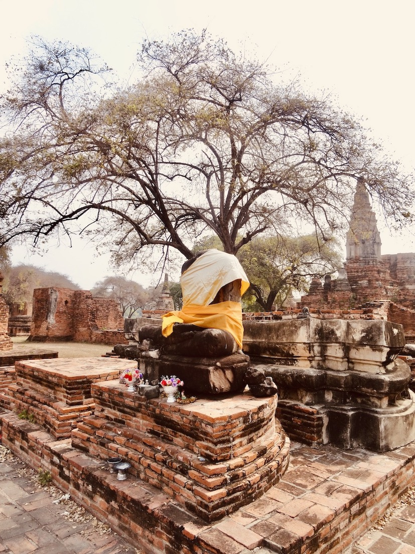 Headless Buddha Wat Phra Ram Ayutthaya