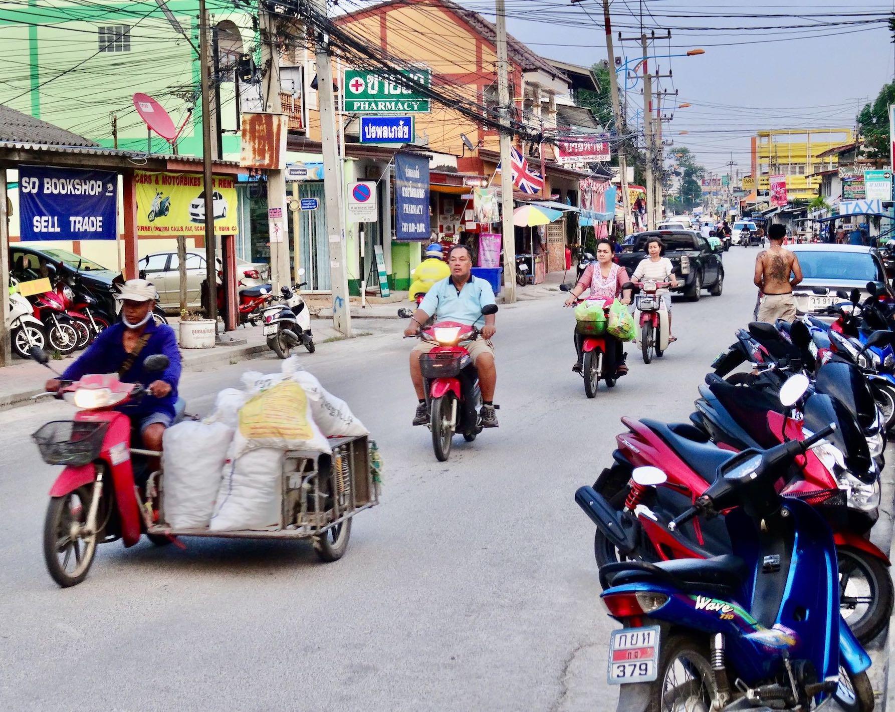 Kanchanaburi in Thailand.