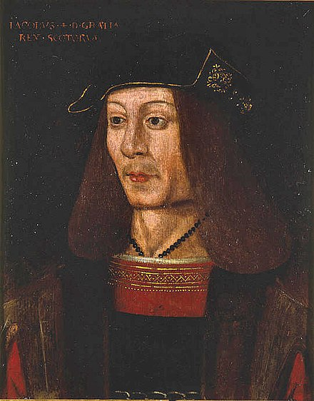 King James IV King of Scots.
