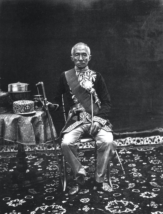King Mongkut of Siam.