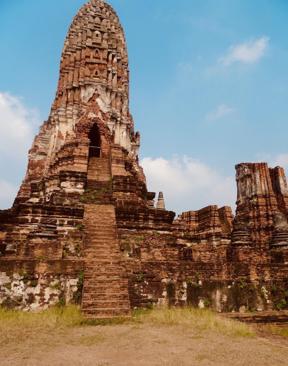 Main pagoda Wat Phra Ram.