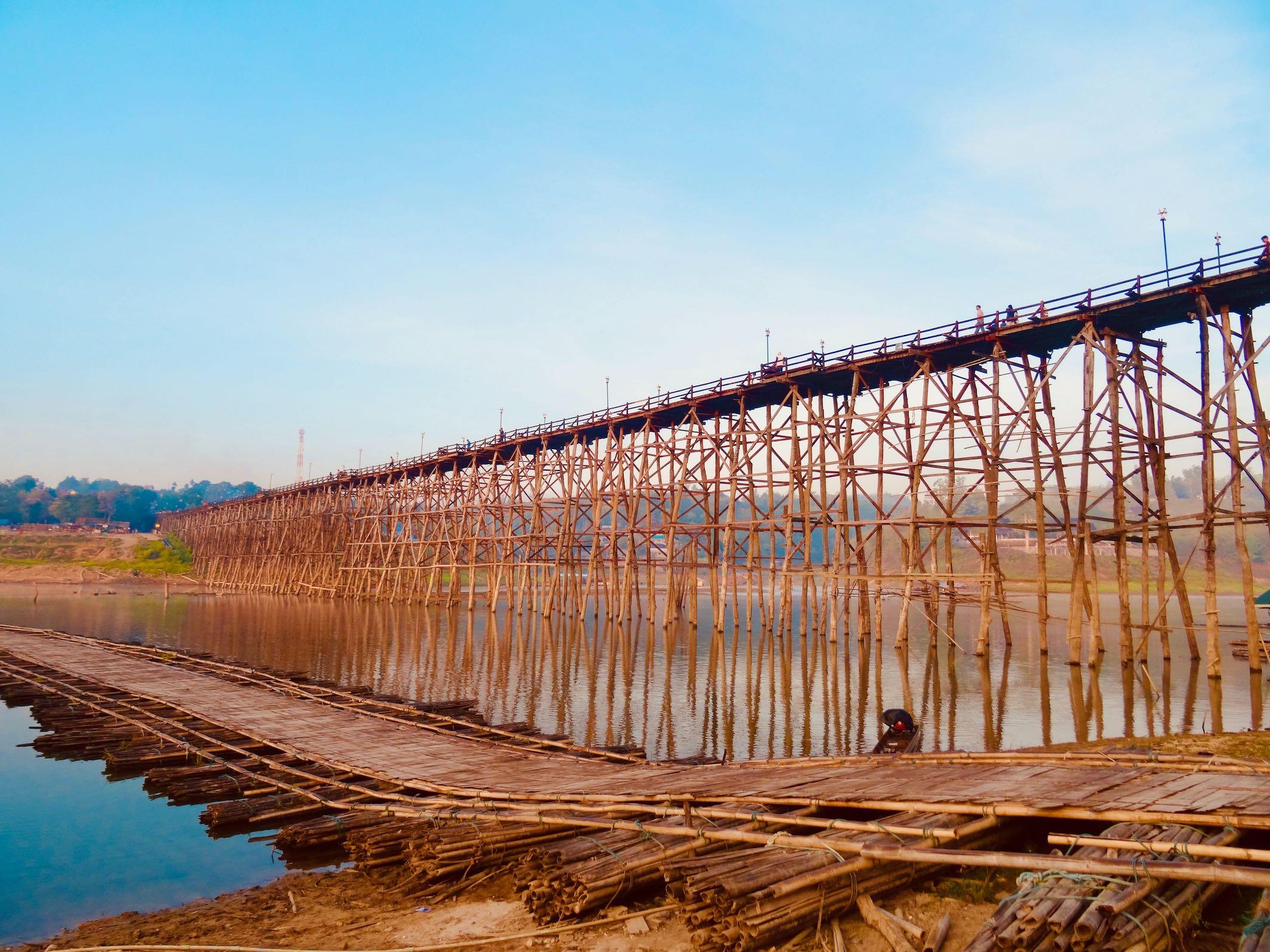 Mon Bridge in Sangkhlaburi.