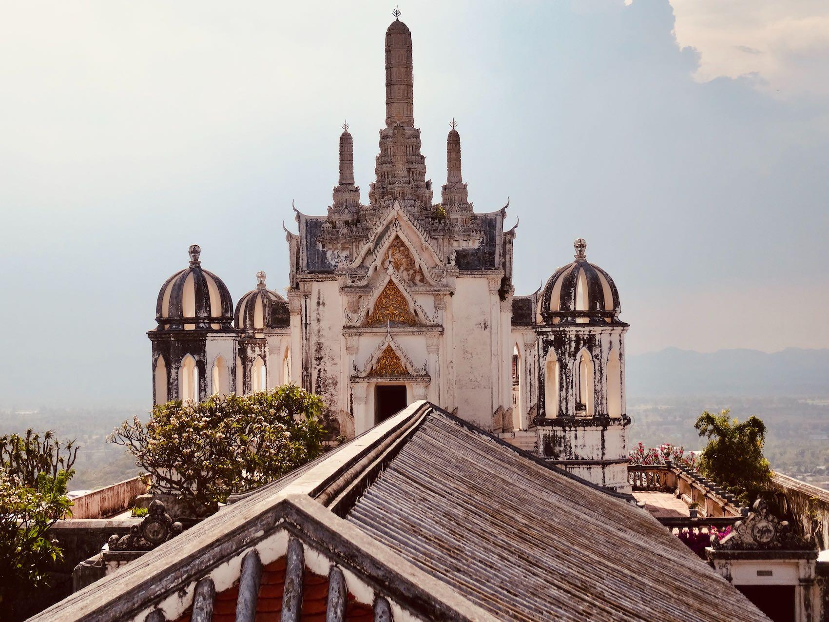 Palace Hill Phetchaburi Thailand.