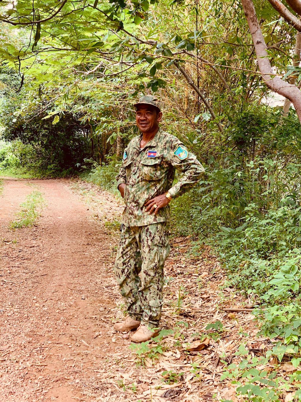 Park ranger Kep National Park
