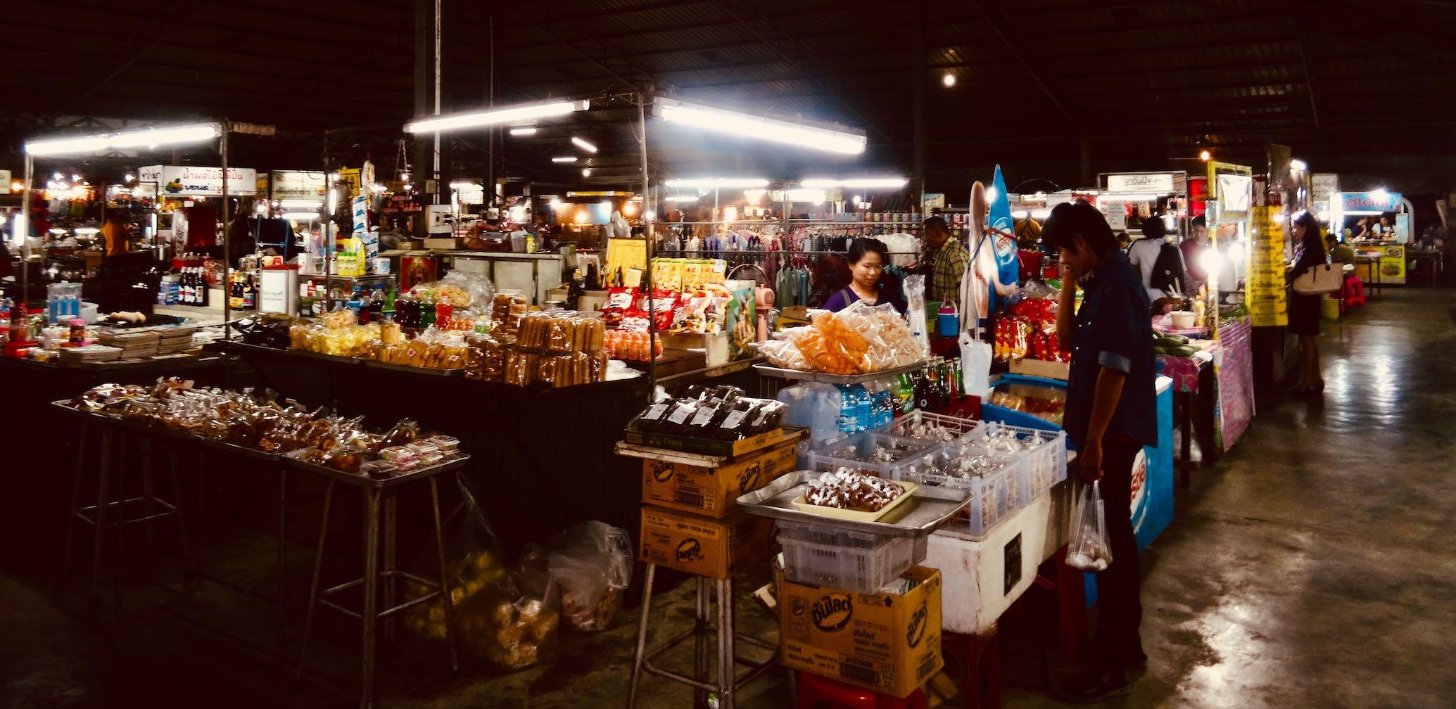Phetchaburi Night Market.