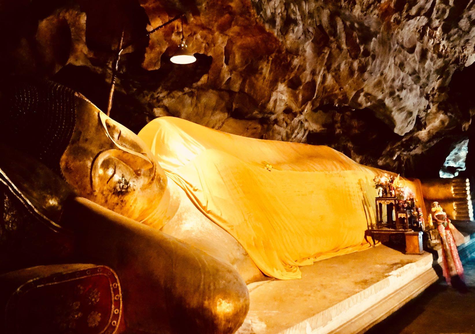Reclining Buddha Phetchaburi Thailand