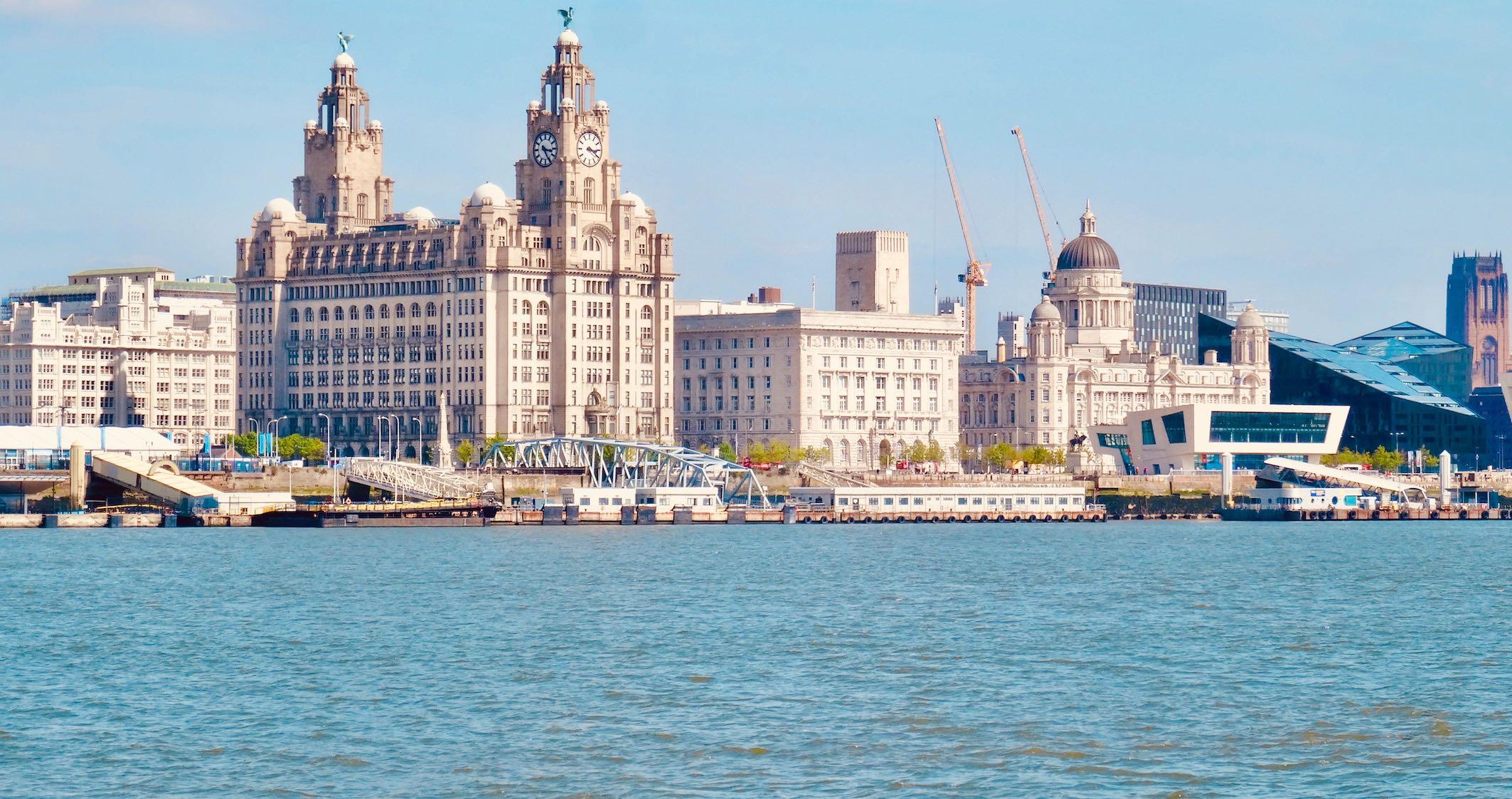 Royal Liver Building Liverpool.