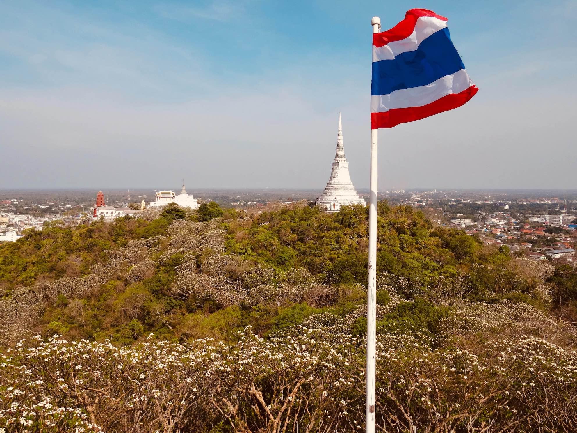 Royal Palace Phetchaburi Thailand.