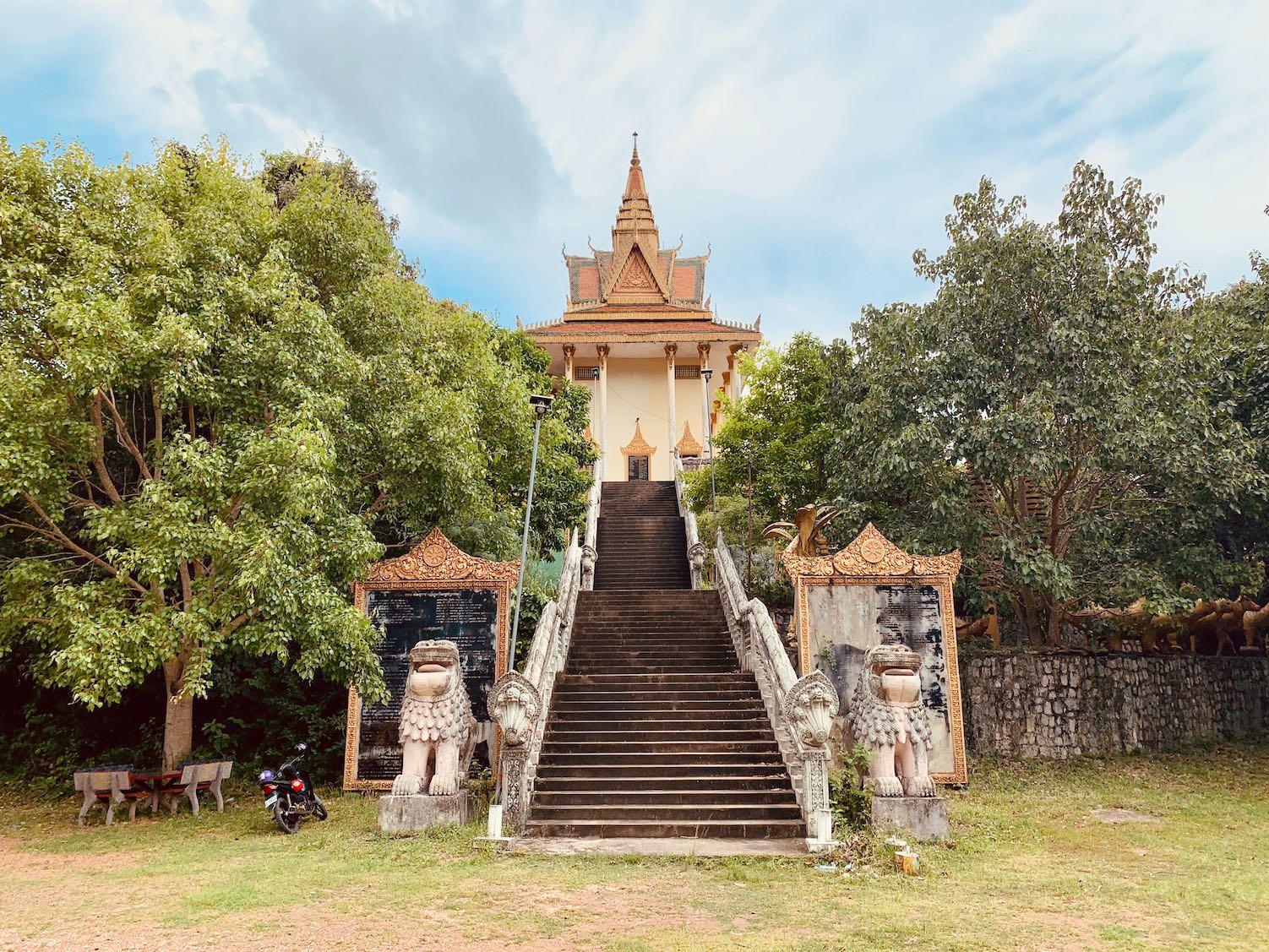 Samathi Pagoda Kep Cambodia.
