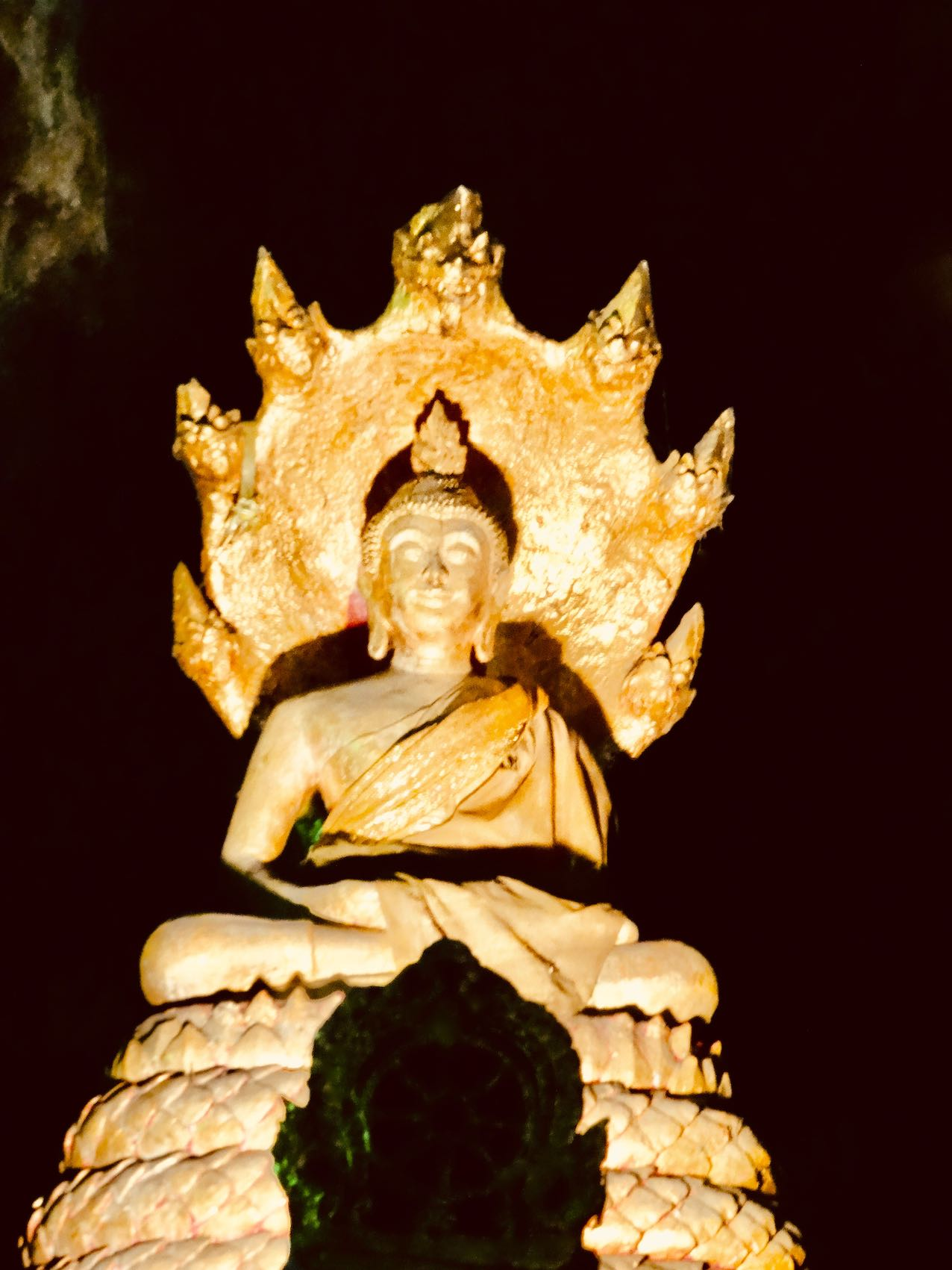 Seated Buddha Tham Khao Luang.