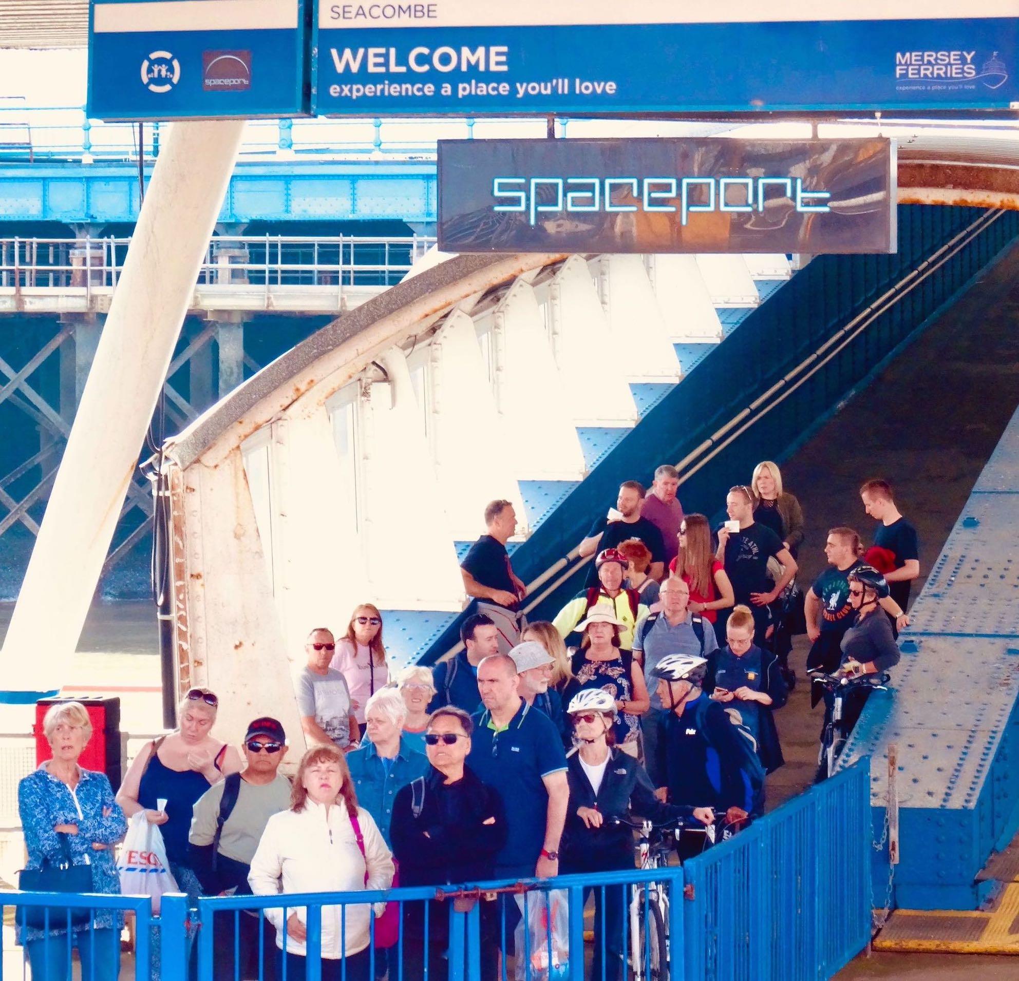 Spaceport Mersey Ferries Seacombe terminal Liverpool