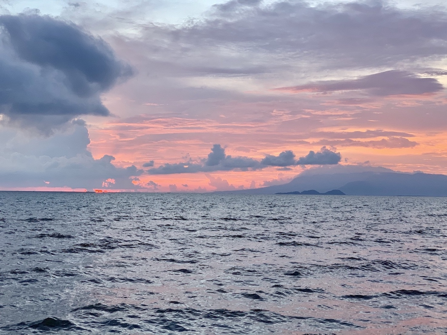 Sunset Kep Cambodia.