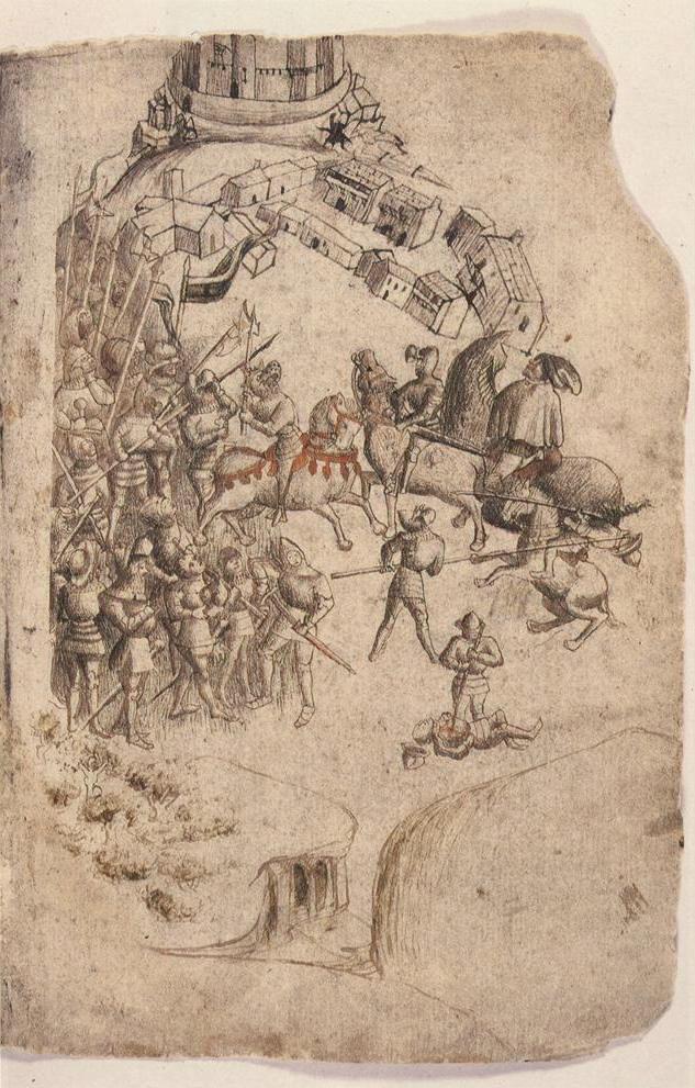 The Battle of Bannockburn.