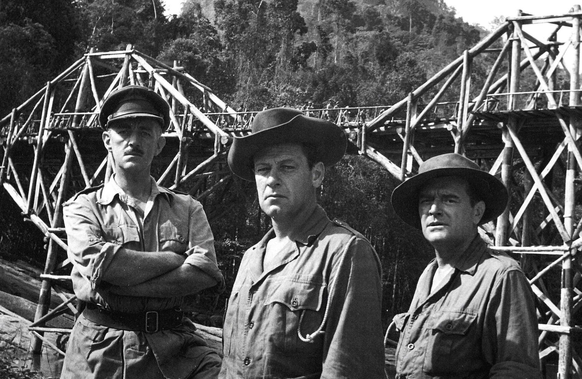 The Bridge on the River Kwai film.