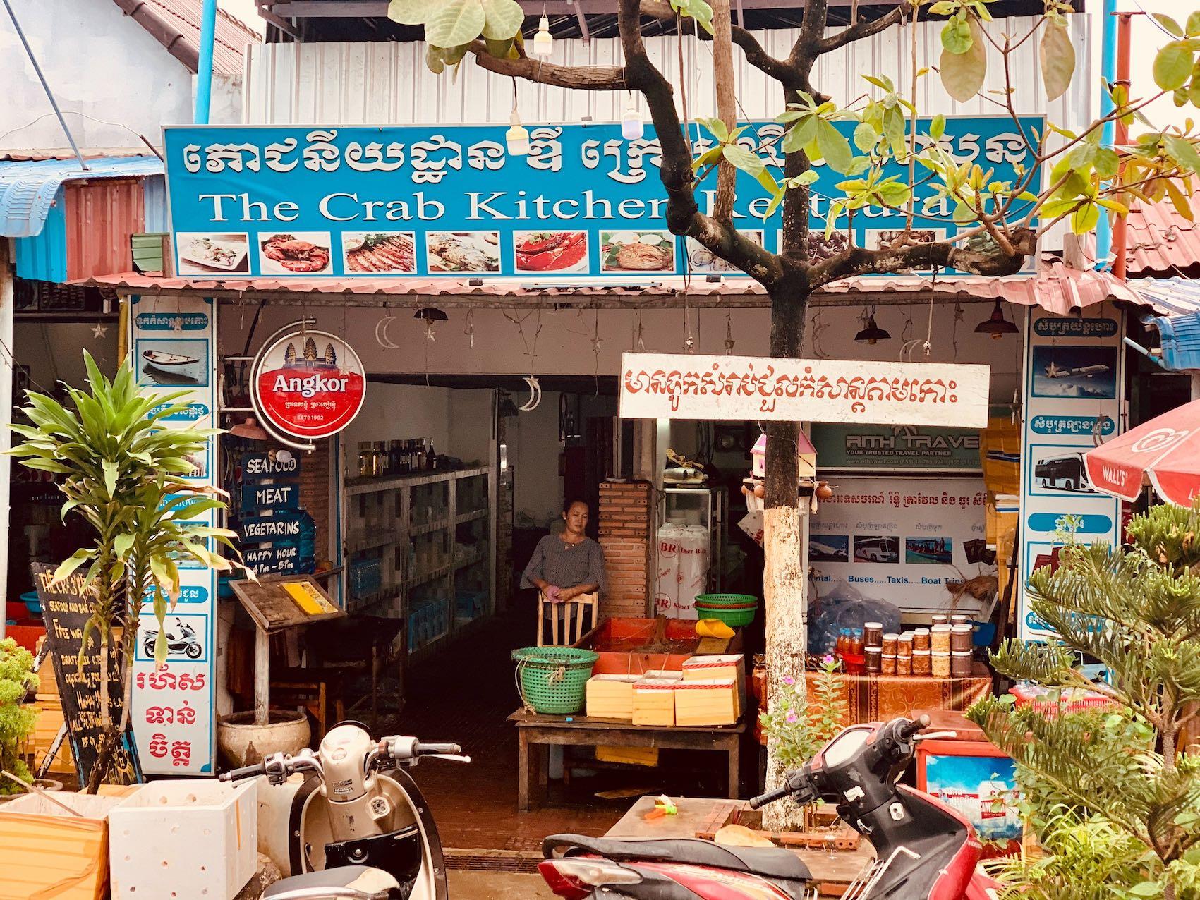 The Crab Kitchen Restaurant Kep