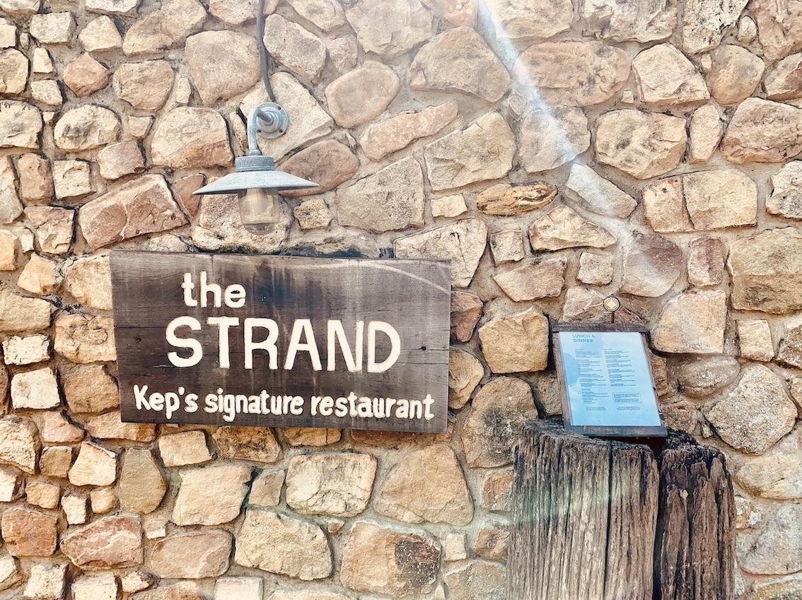 The Strand Restaurant Kep.