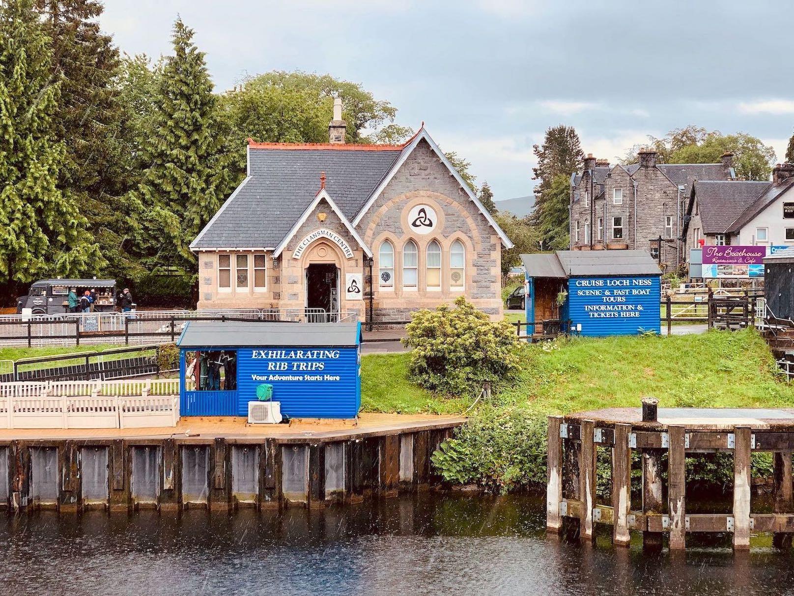 Visit Fort Augustus Village in Loch Ness