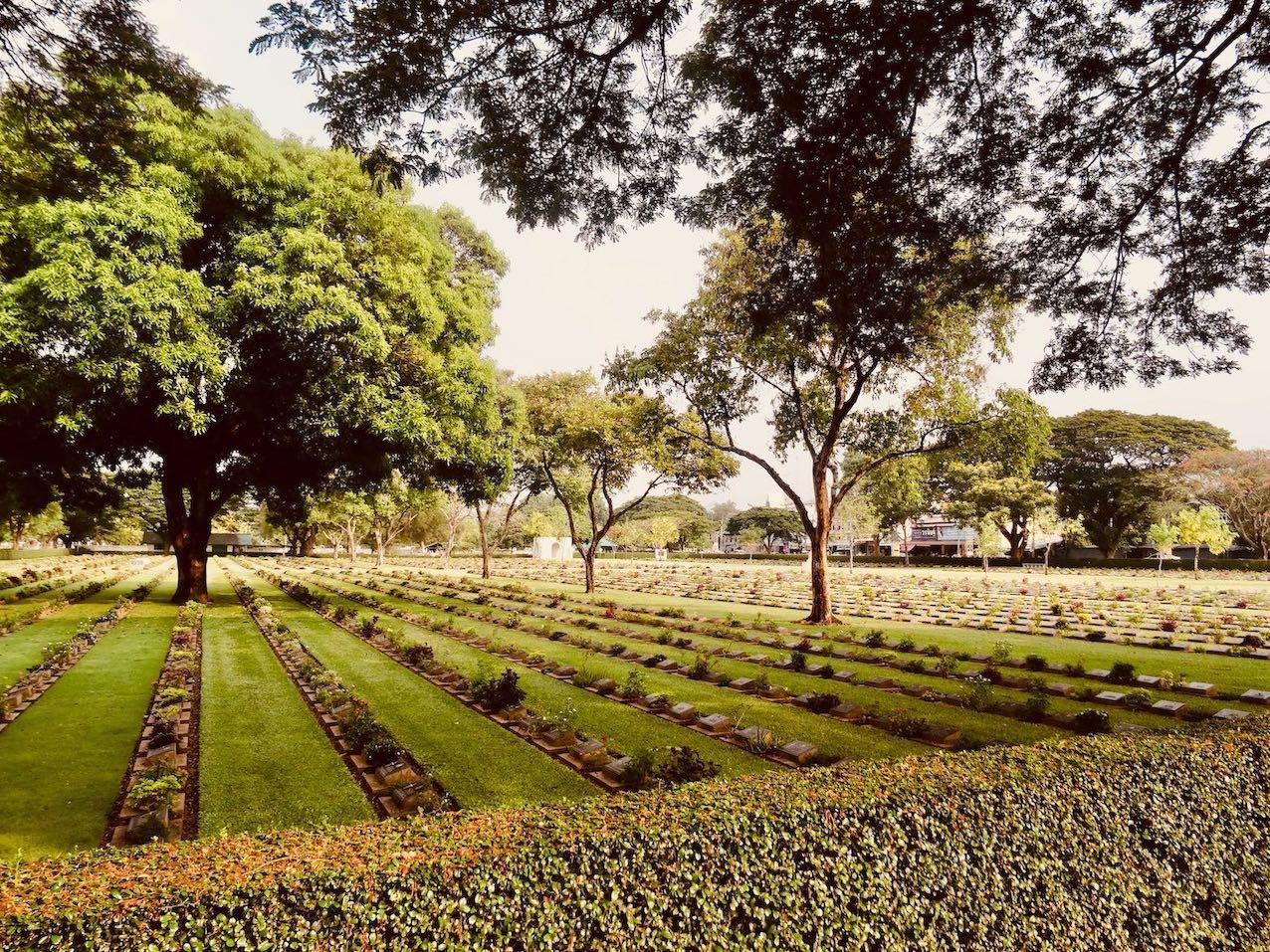 Visit Kanchanaburi War Cemetery.