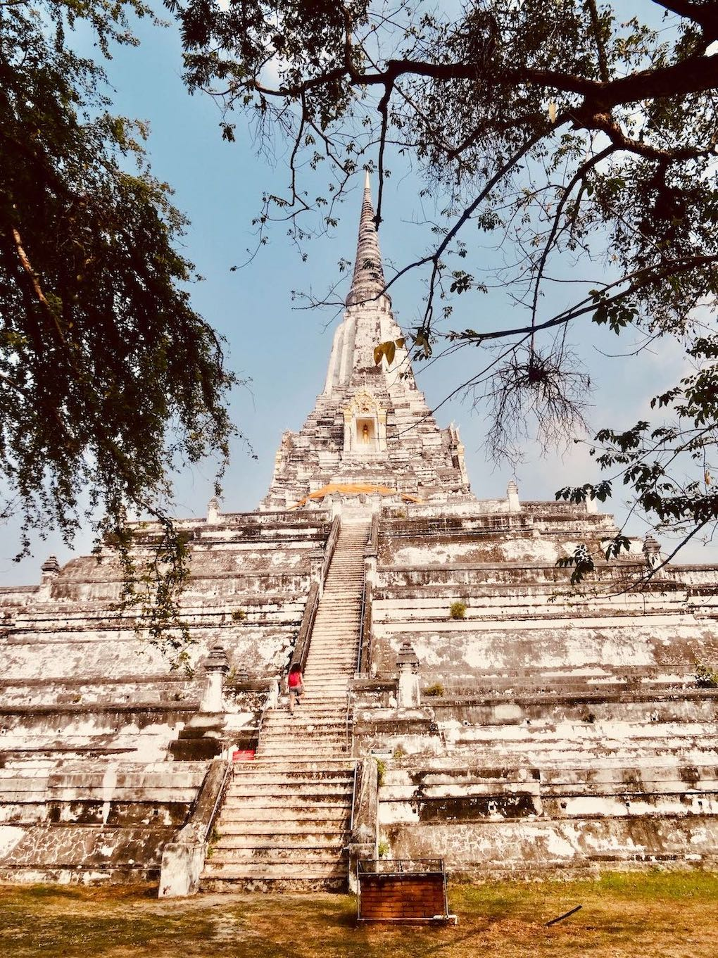 Wat Phu Khao Thong Ayutthaya Historical Park