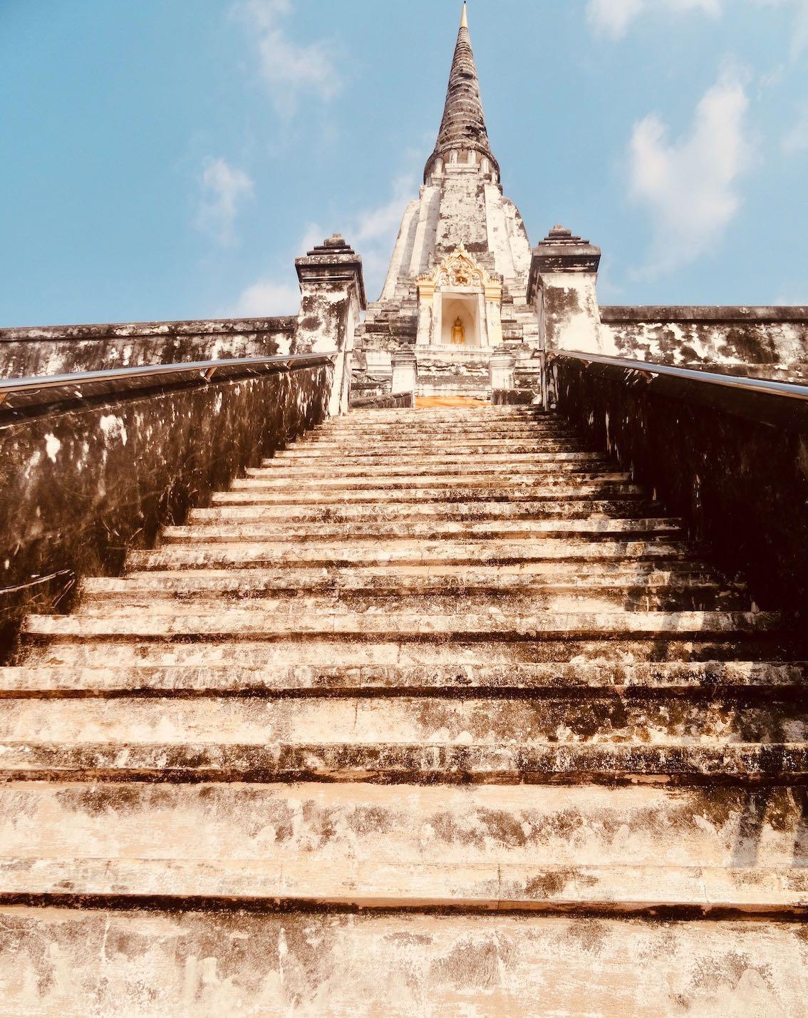 Wat Phu Khao Thong.