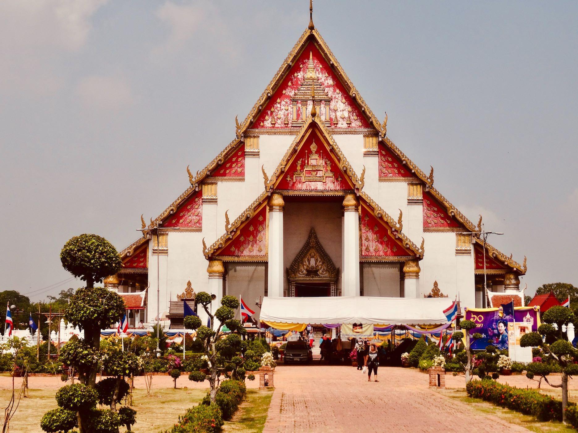 Wihan Phra Mongkhon Bophit.