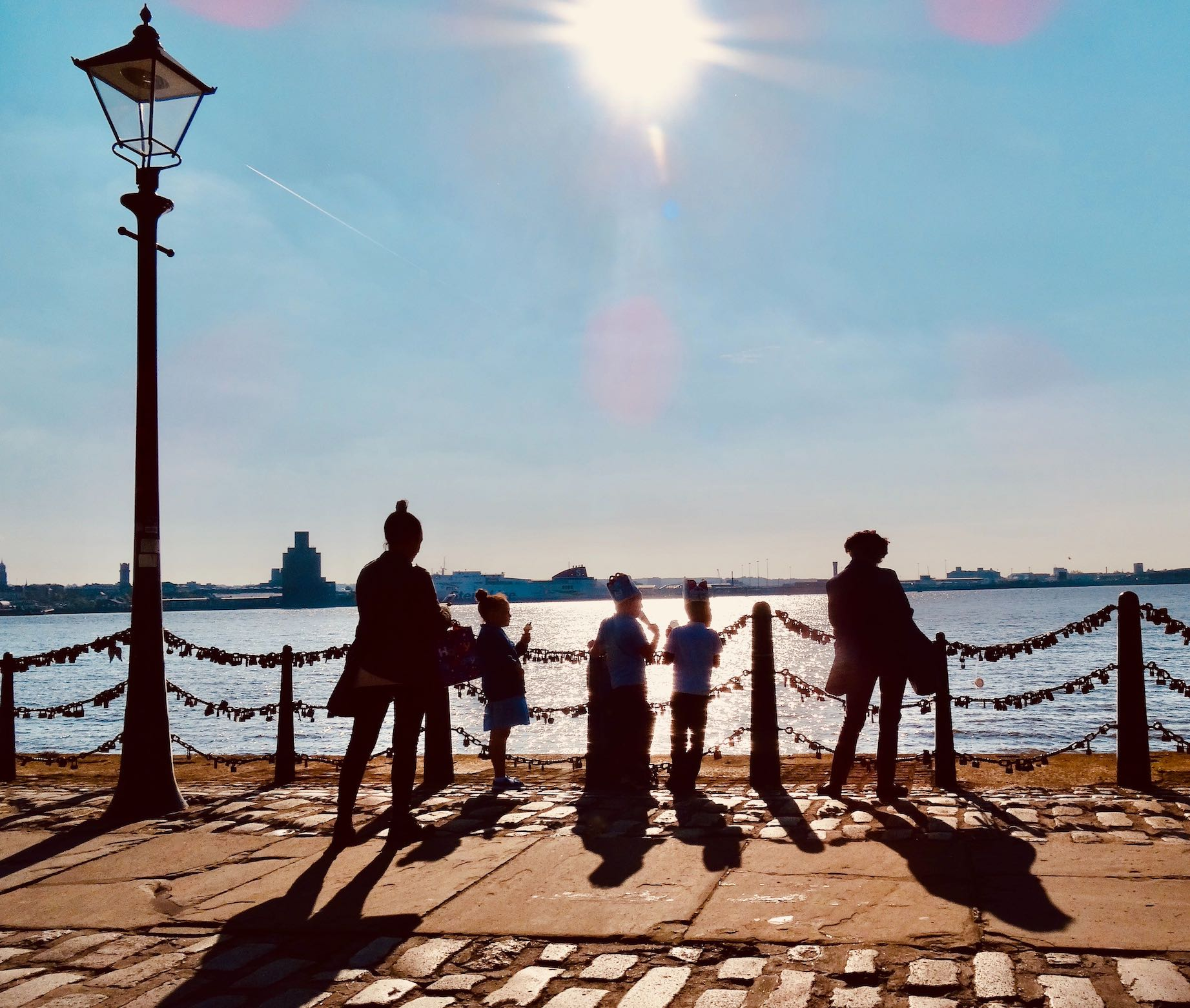 A sunny afternoon at The Liverpool Waterfront