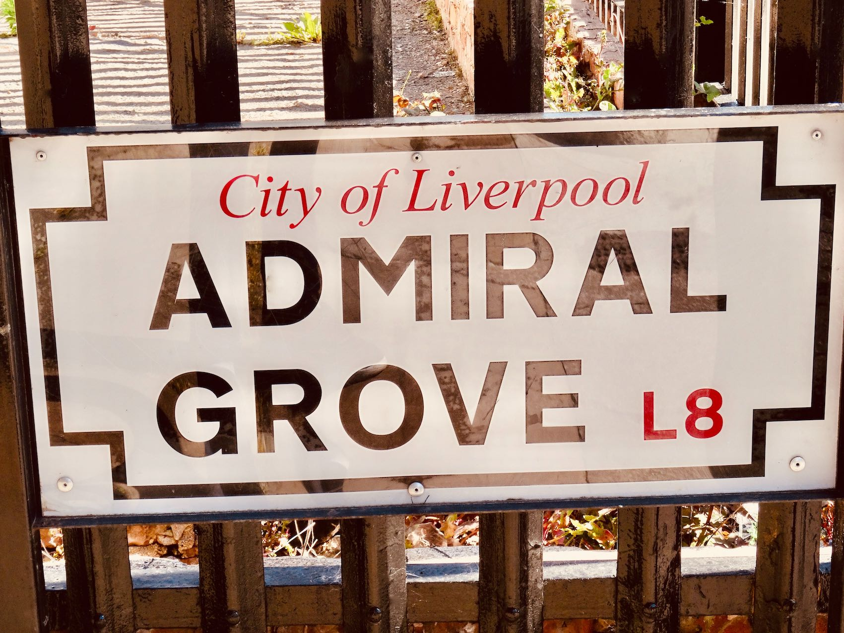Admiral Grove in Liverpool.