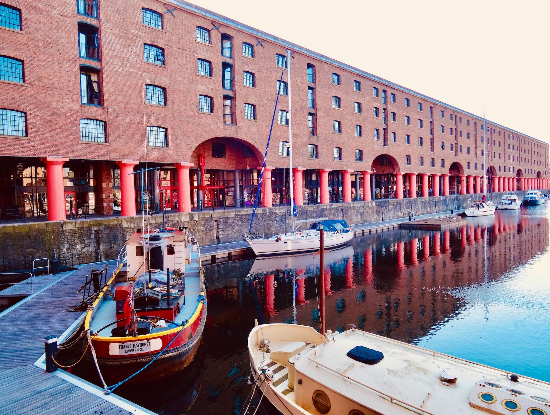 Albert Dock Liverpool.