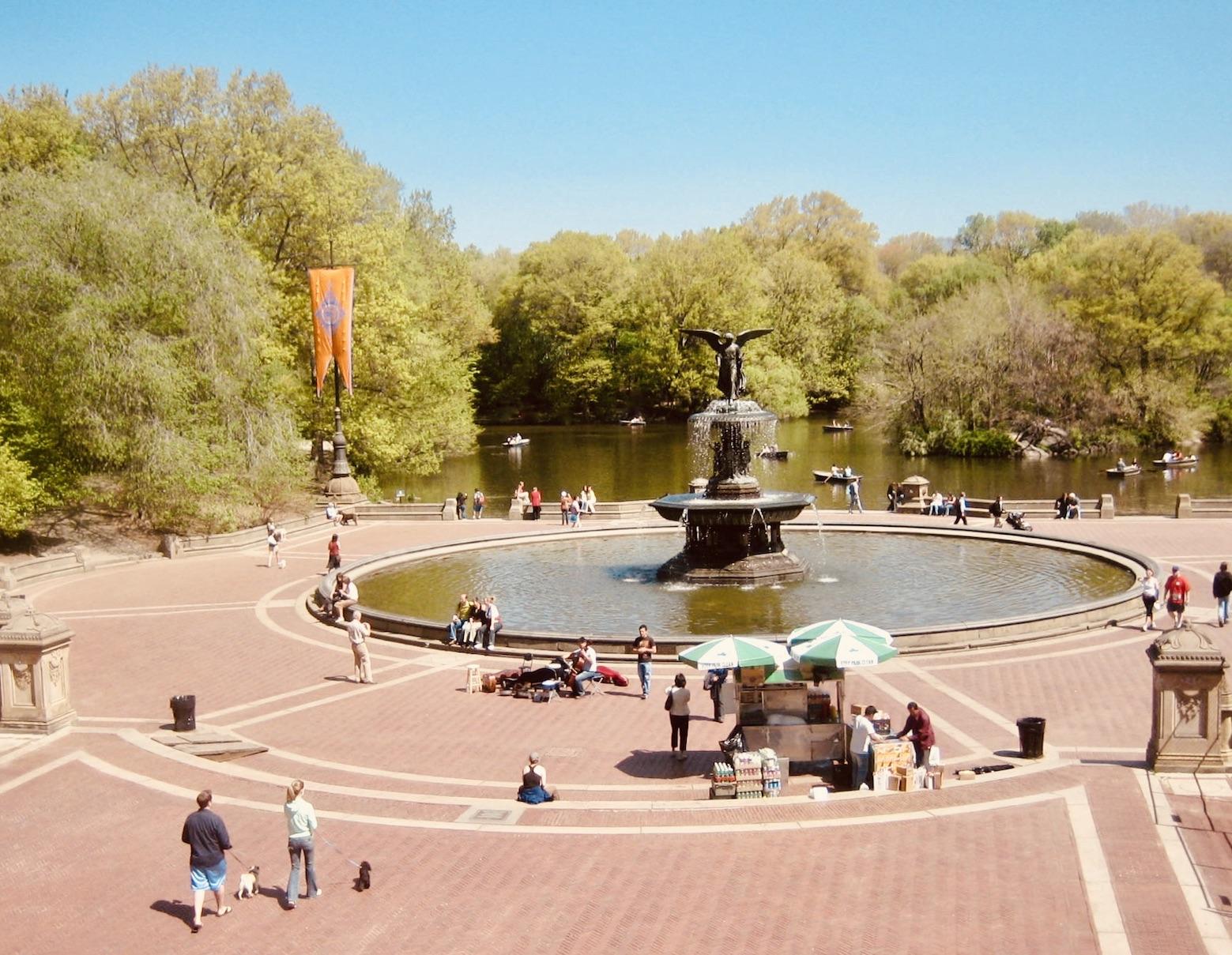 Bethesda Fountain at Central Park
