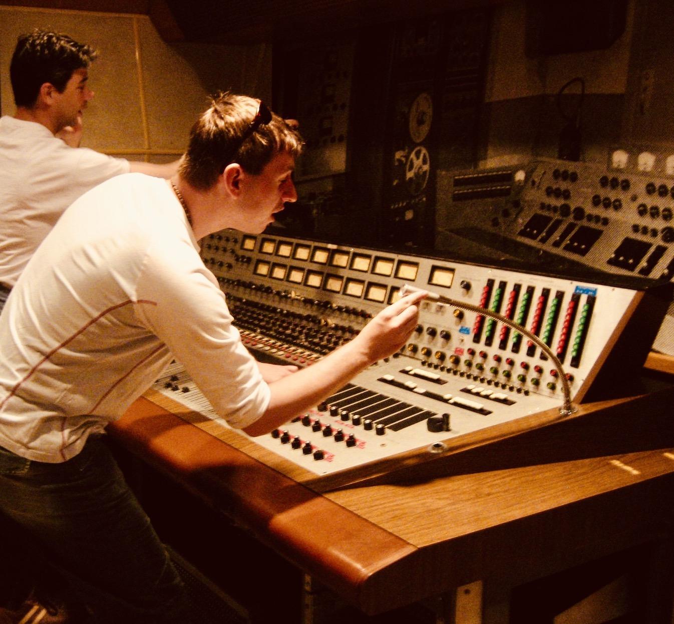 Bill Porter's Audio Console RCA Studio B Nashville