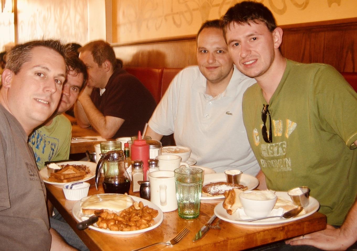 Breakfast at The Diner in Adams Morgan Washington DC