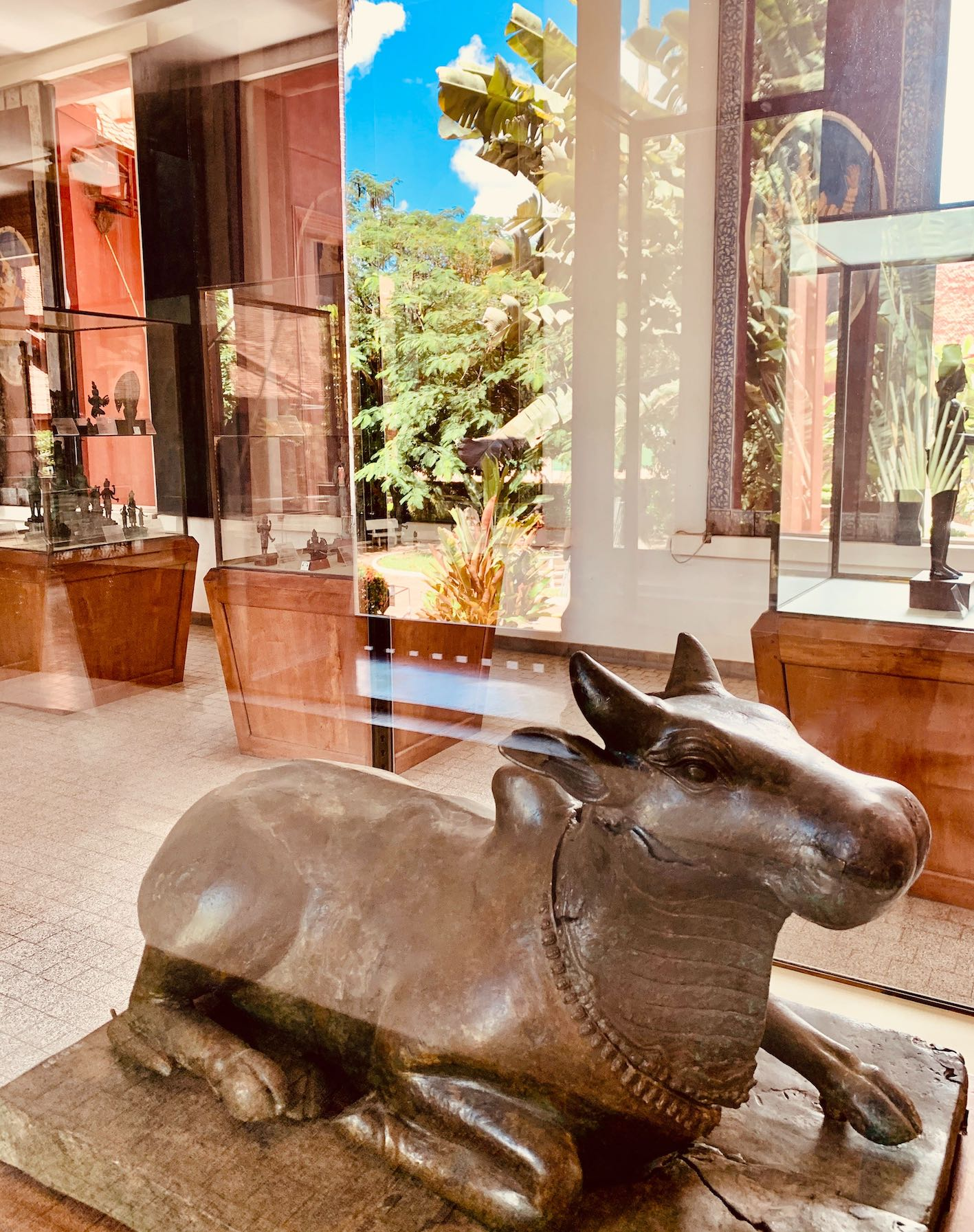 Bronze bull of Shiva Phnom Penh.