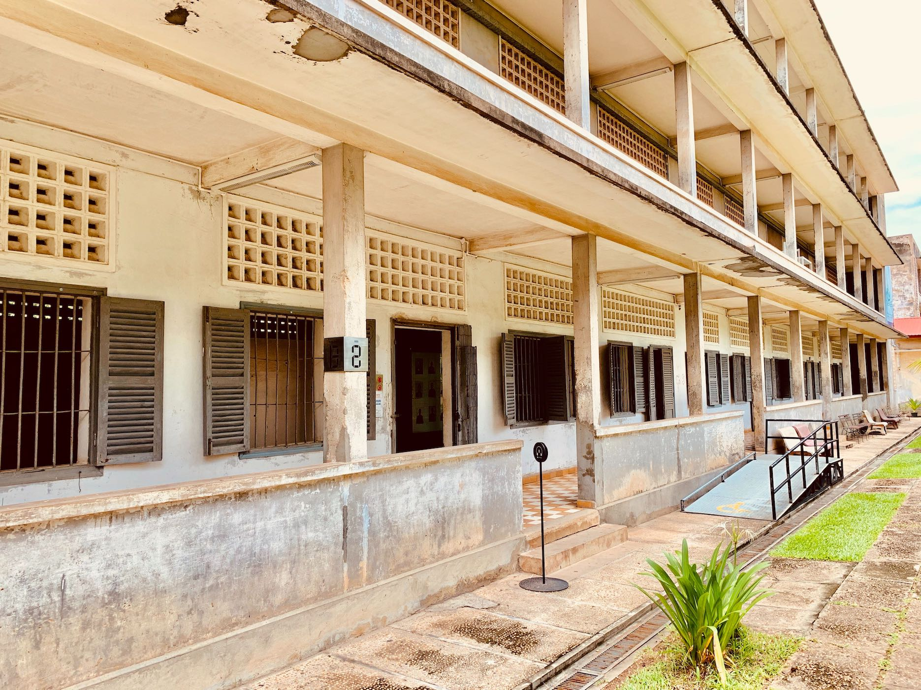 Building B Tuol Sleng Genocide Museum