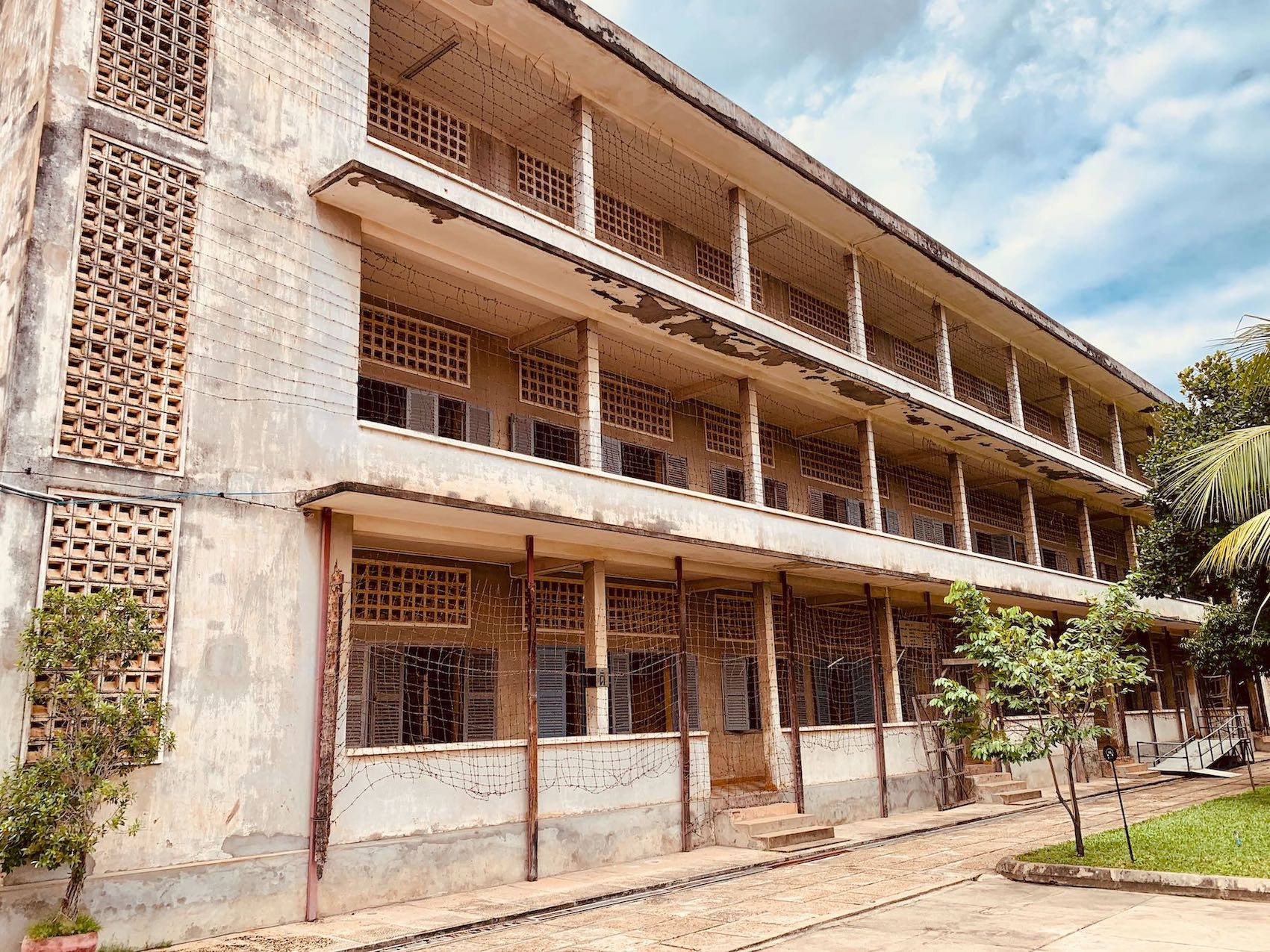 Building C Tuol Sleng Genocide Museum