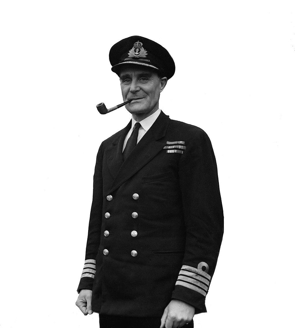 Captain Frederic John Walker English Royal Naval Officer