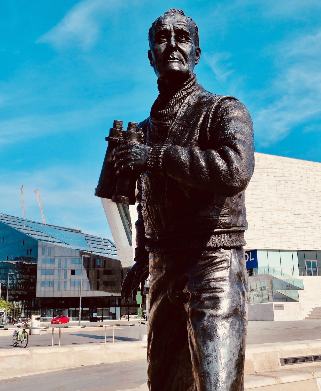 Captain Frederic John Walker Statue