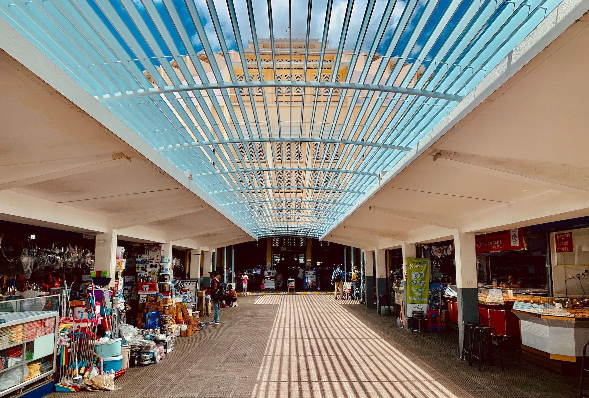 Central Market Phnom Penh.
