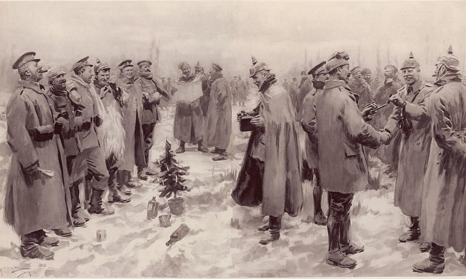 Christmas Truce First World War 1914