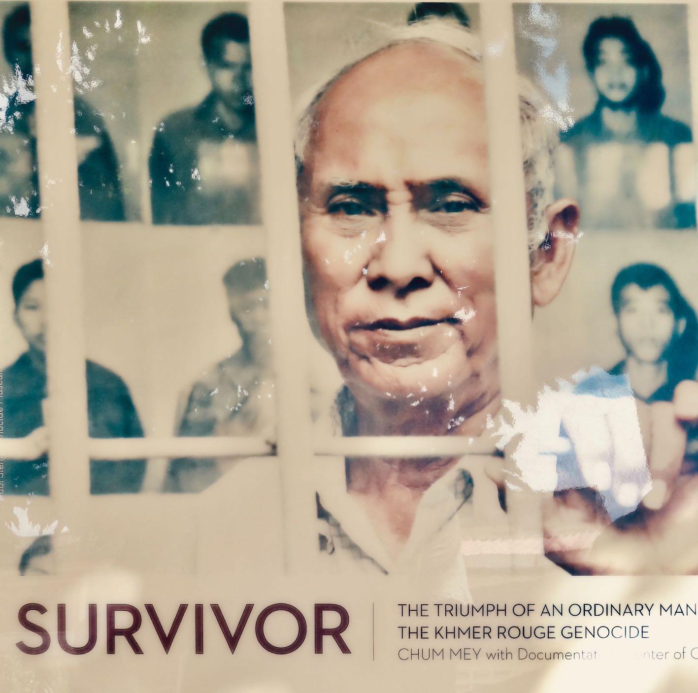 Chum Mey Cambodian genocide survivor