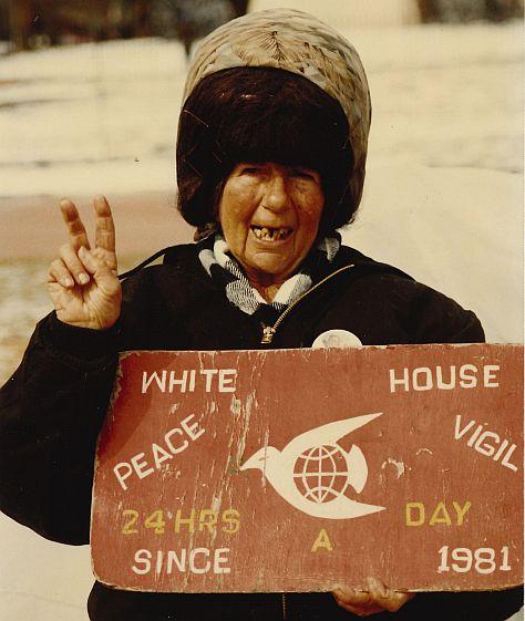 Concepción Picciotto Peace activist.