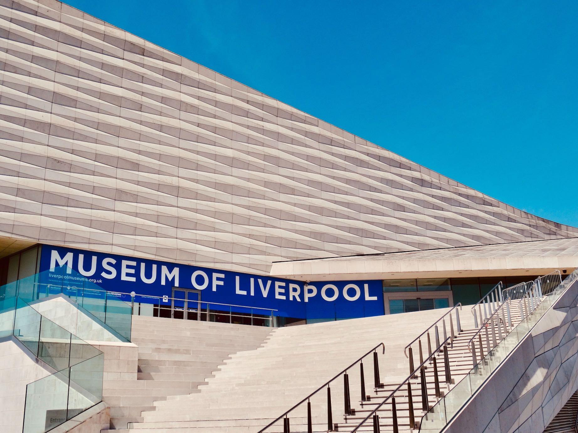 Exterior Museum of Liverpool.