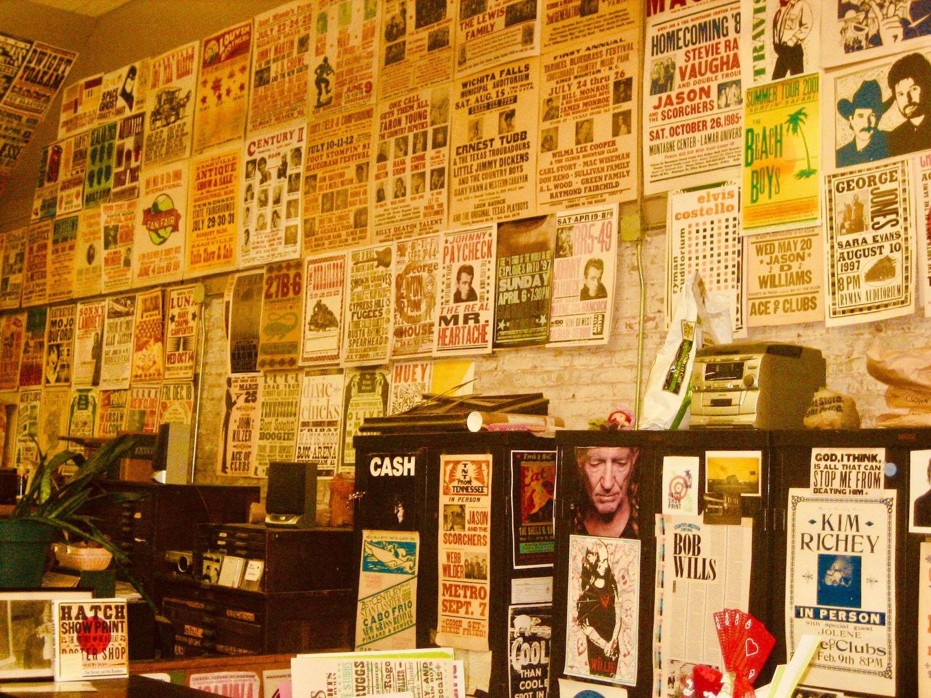 Hatch Show Print Nashville.
