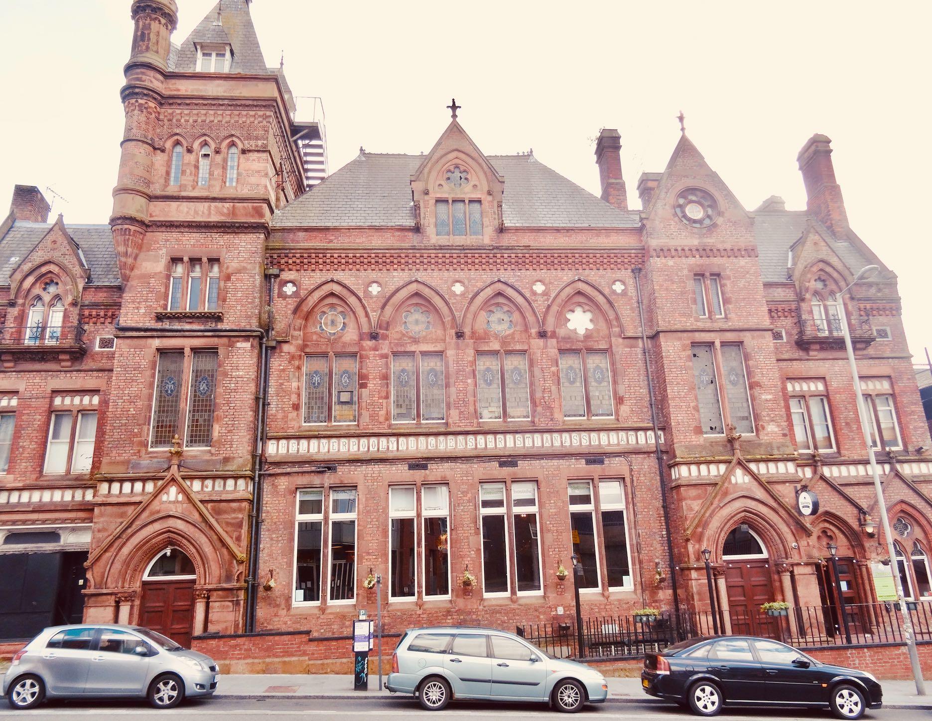 Hatters Hostel in Liverpool.