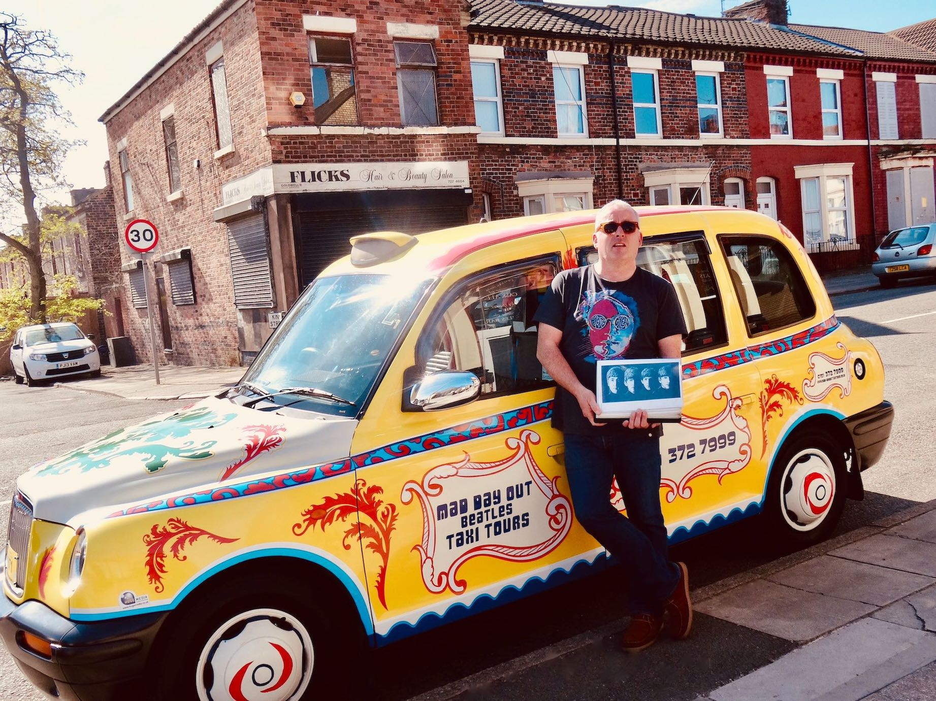 Ian Doyle Mad Day Out Beatles Taxi Tour