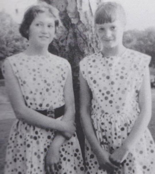 Julia and Jackie Baird John Lennon's half sisters