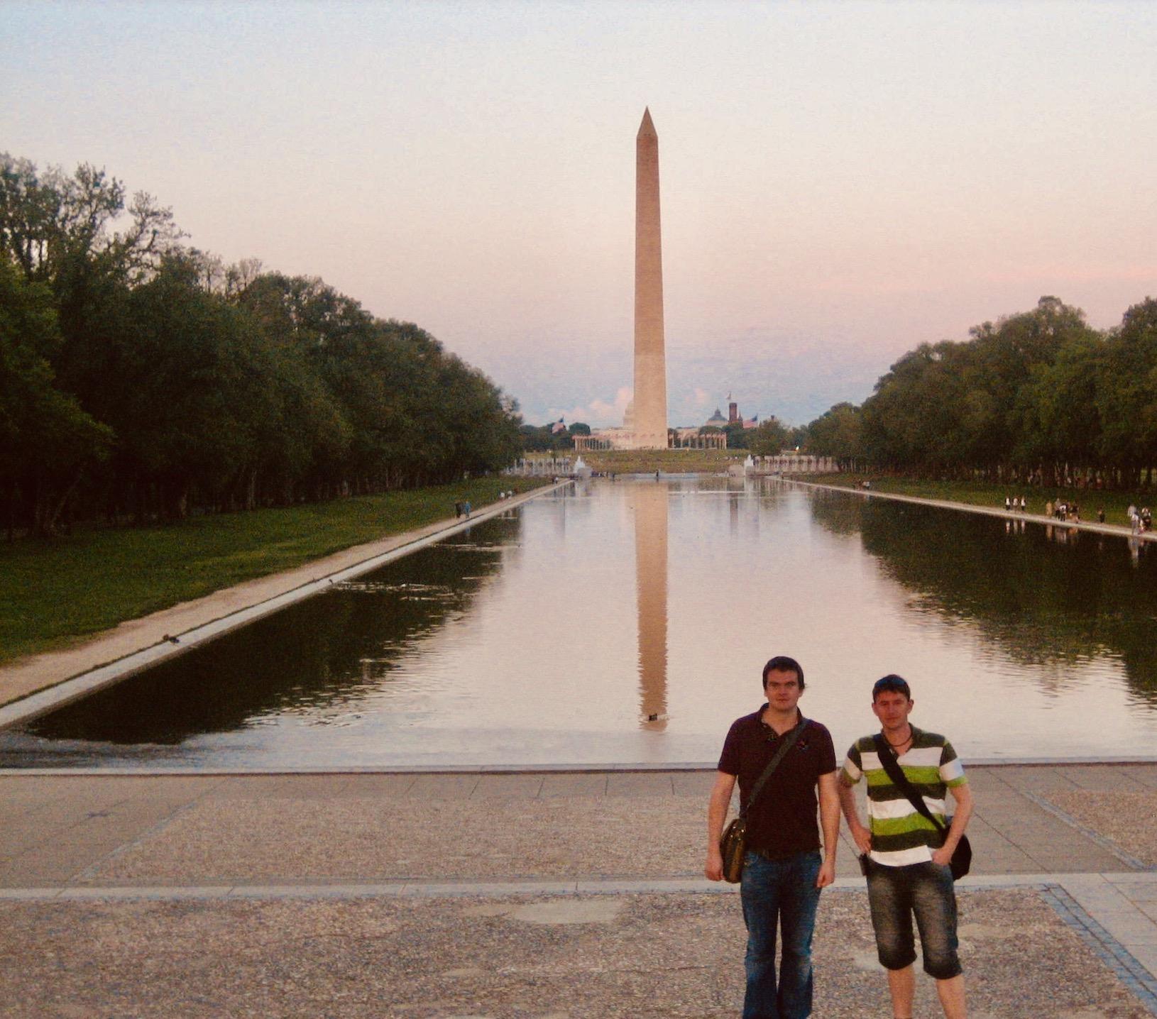 Lincoln Memorial Reflecting Pool.