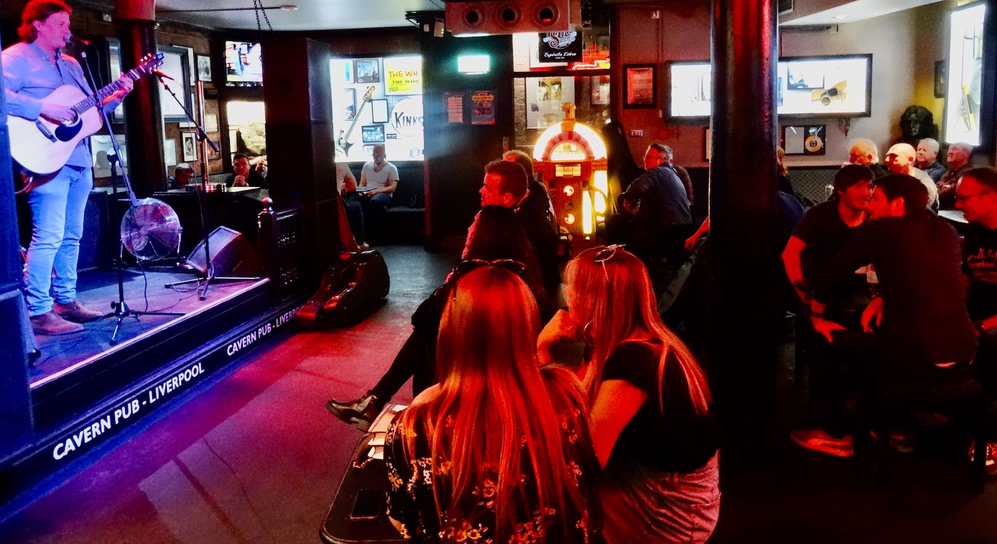 Live music at The Cavern Pub in Liverpool