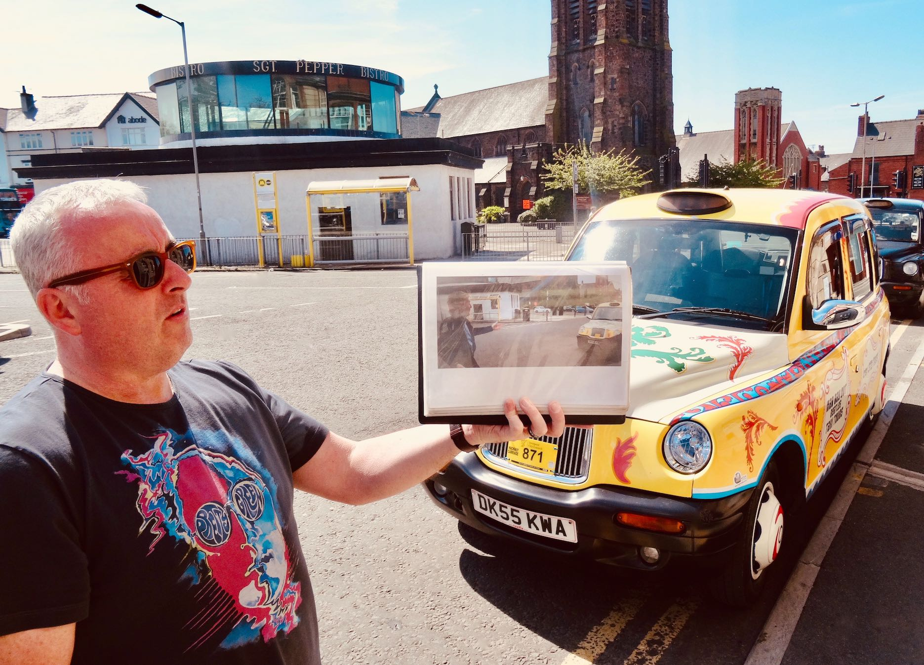 Mad Day Out Beatles Taxi Tour Liverpool Ian Doyle